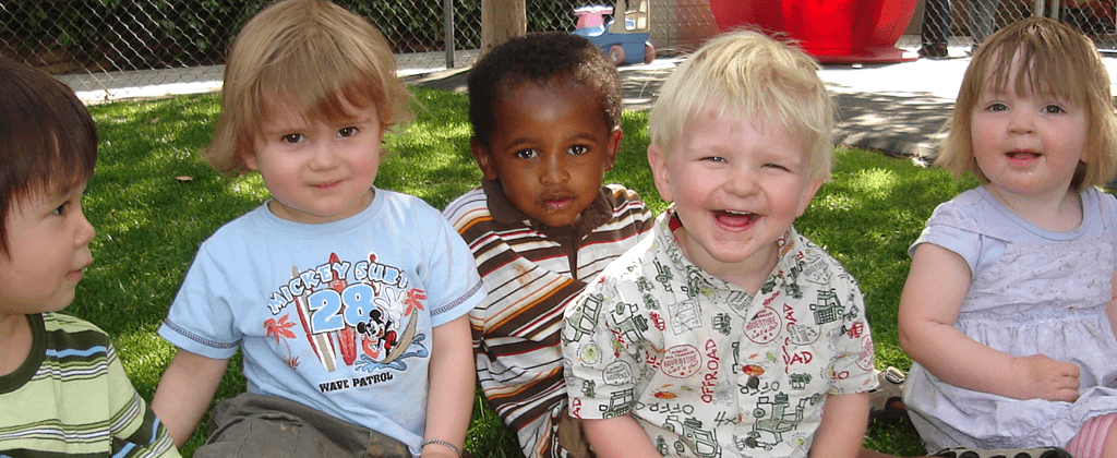 Toddlers make lots of friends at Halsey Schools