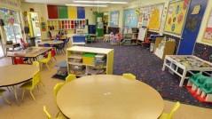 Bright, happy, fun classrooms