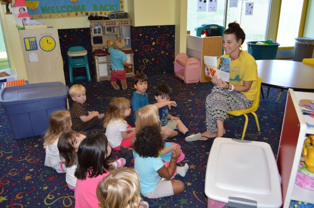 Preschoolers love to be read to