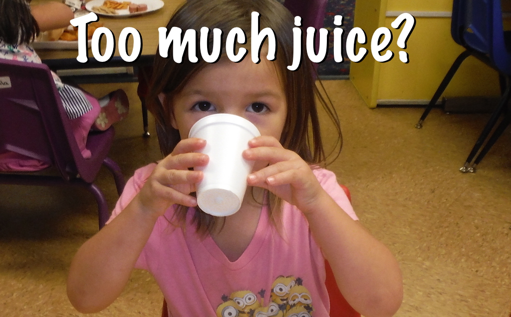 "AAP agrees ""no juice for children under 1 year old."