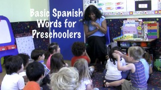Basic Spanish Words for preschooler