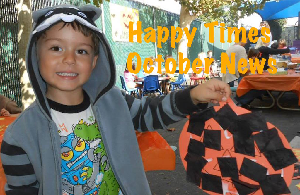 Happy Times Preschool & Infant Newsletter at Halsey Schools
