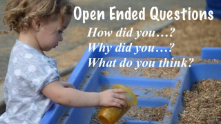 Open ended questions in preschool encourage language development