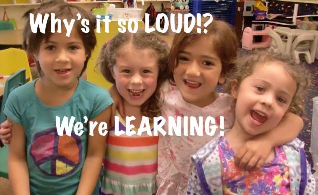 Preschool classrooms should be full of talking