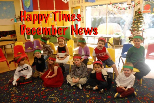 Happy Times this December at Halsey Schools