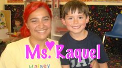Ms. Raquel awesome preschool teacher