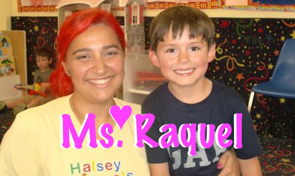 Ms. Raquel awesome preschool teacher