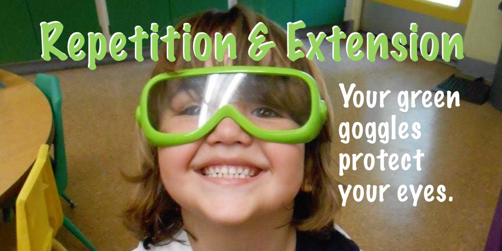 Use repetition & extension language to increase preschool children's vocaulary