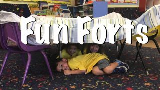 Forts are fun! Build one today!