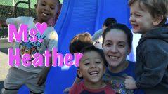 Ms Heather Loves preschool children