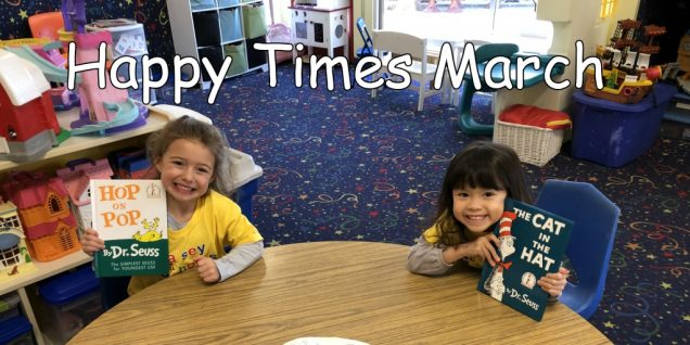 Happy Times March 2018
