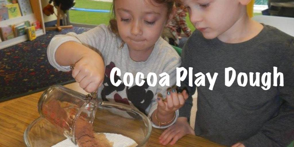 How to make cocoa hot chocolate play dough