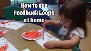 Feedback loops encourage learning