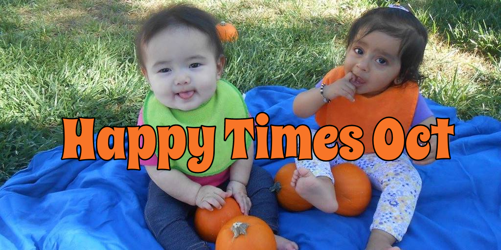 Happy Times October 2018