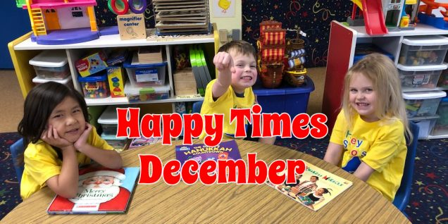 December Preschool daycare news