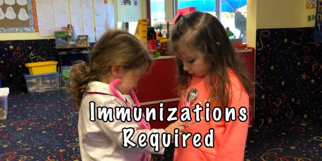 Immunizations Required No Exceptions