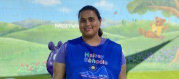 Ms Shaira provides loving daycare in Warner Center