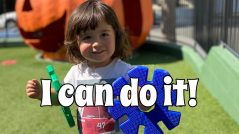Let your child do it themselves