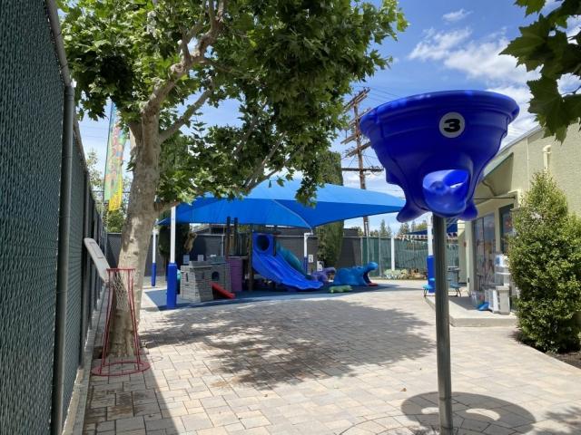 Preschool yard