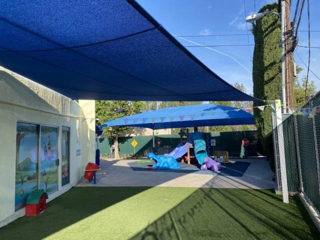 Brand new preschool day care yards