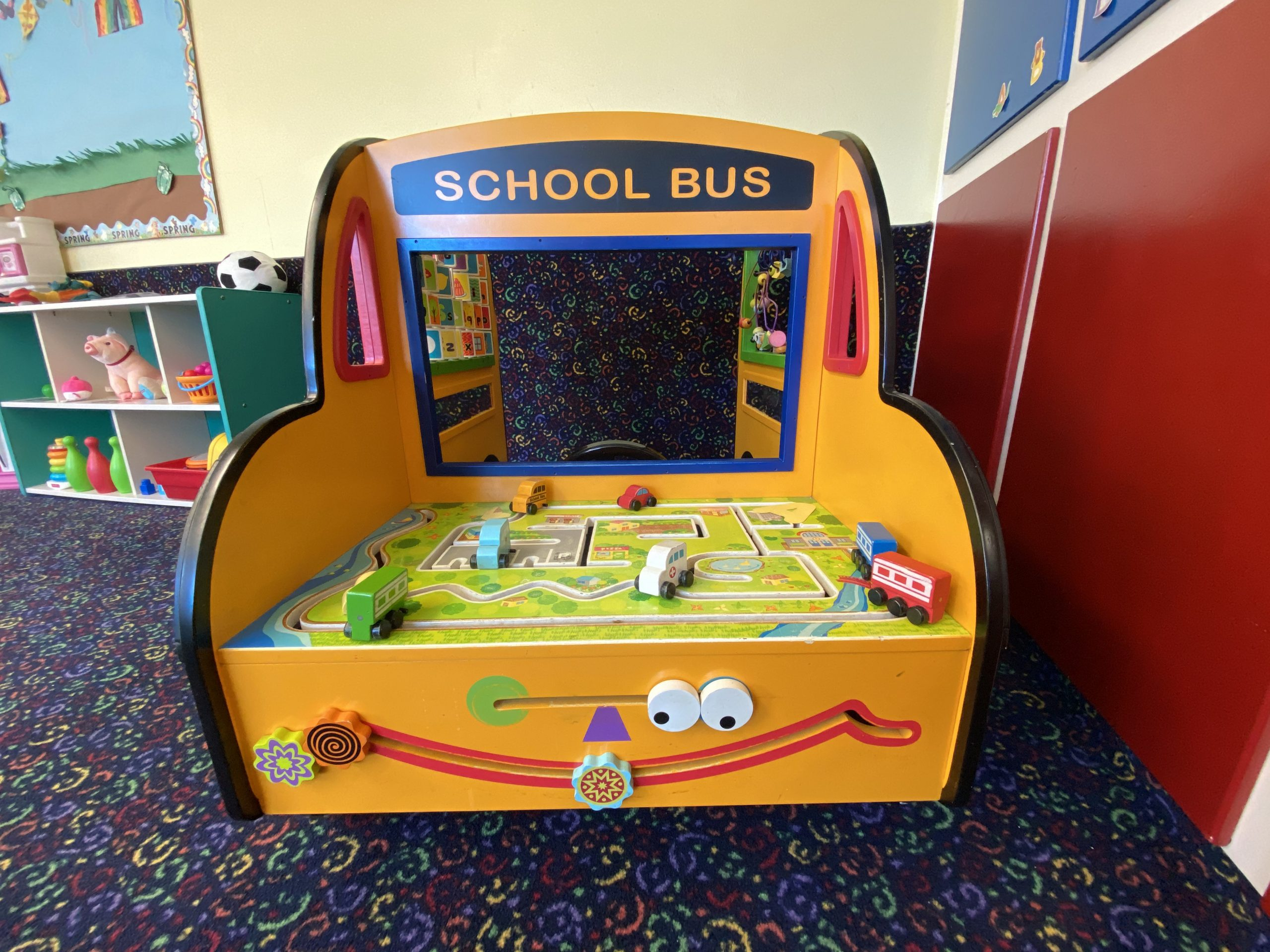 School bus toy for toddlers