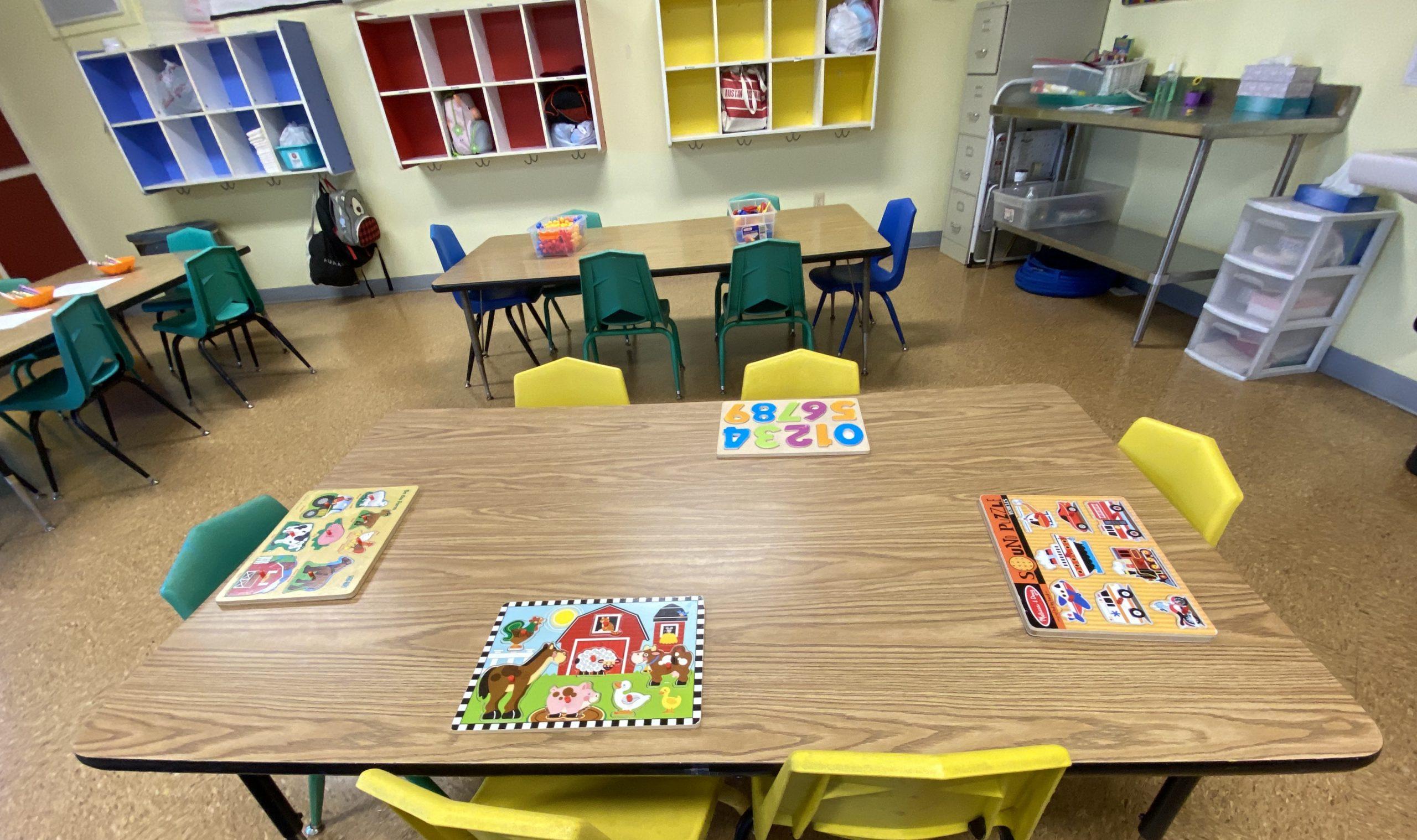 Daycare, Preschool puzzles
