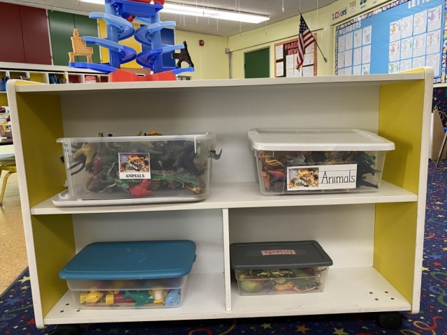 Organized Toys rotated often