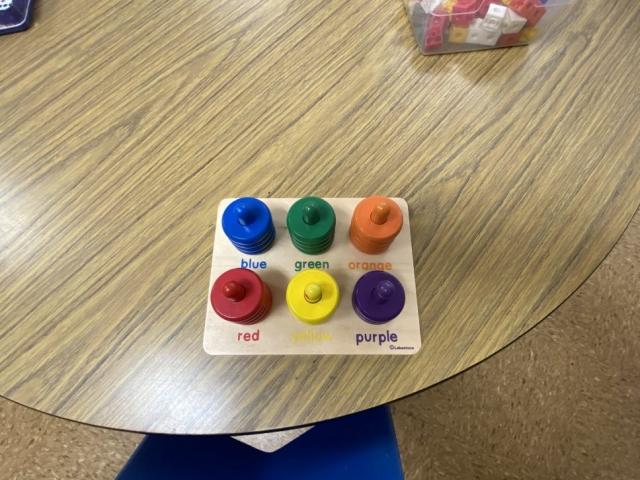 sorting colors in preschool