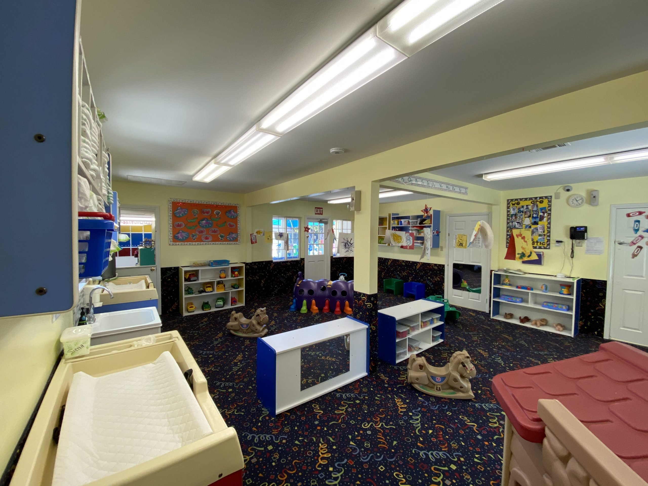 Toddler Classroom in daycare center