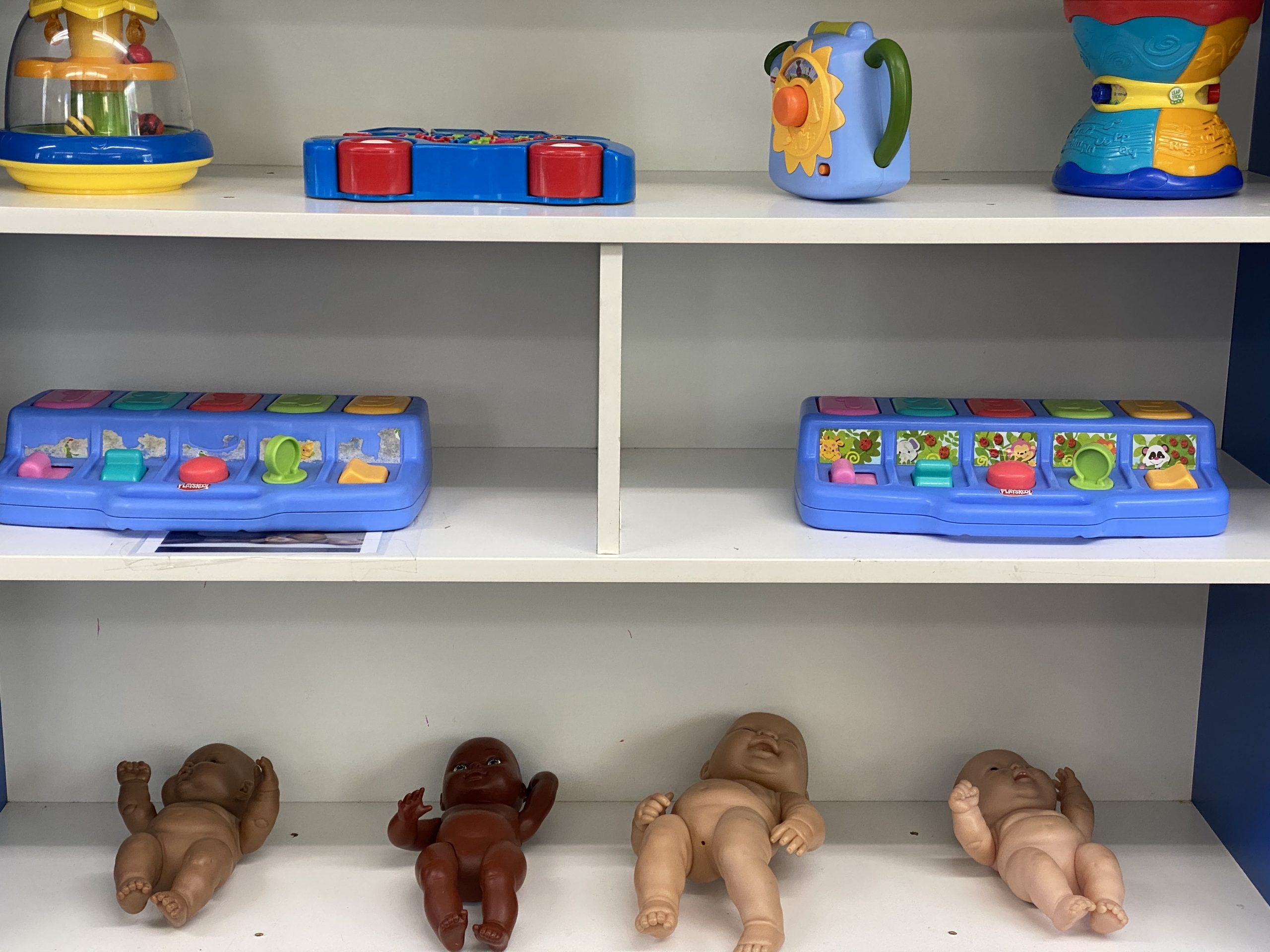 Organizing Toddler Toys