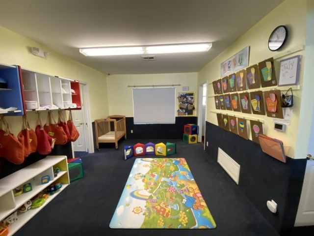Nursery School Child Care activity room
