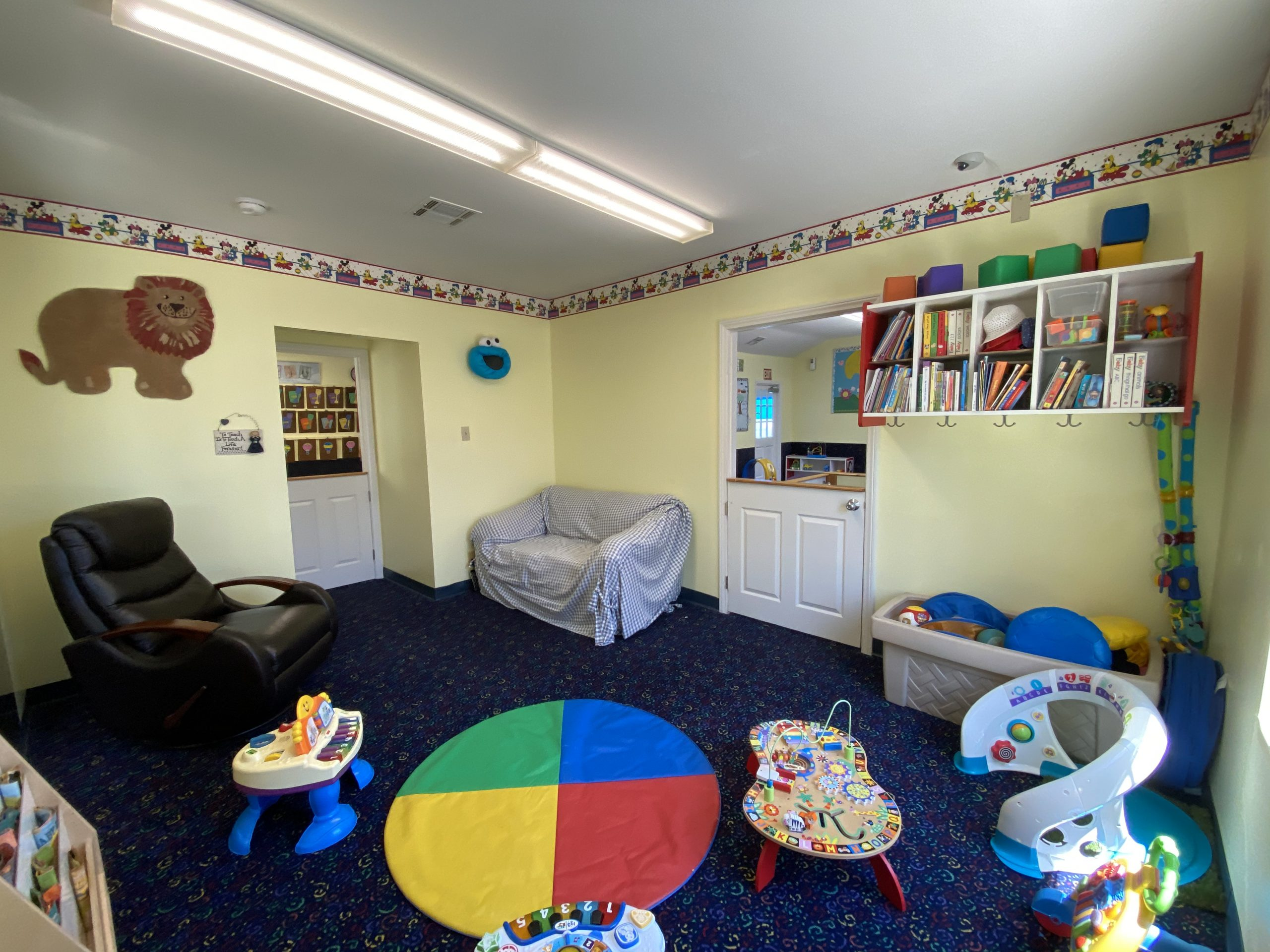 Nursing room in daycare preschool