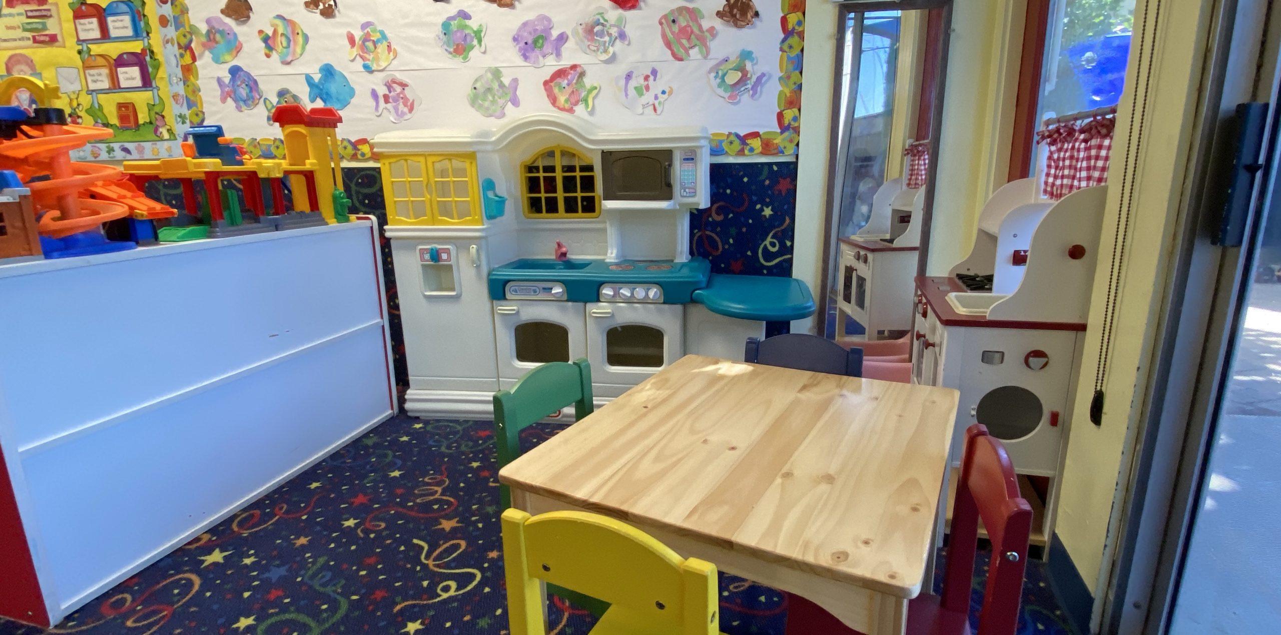 Kitchen for preschoolers
