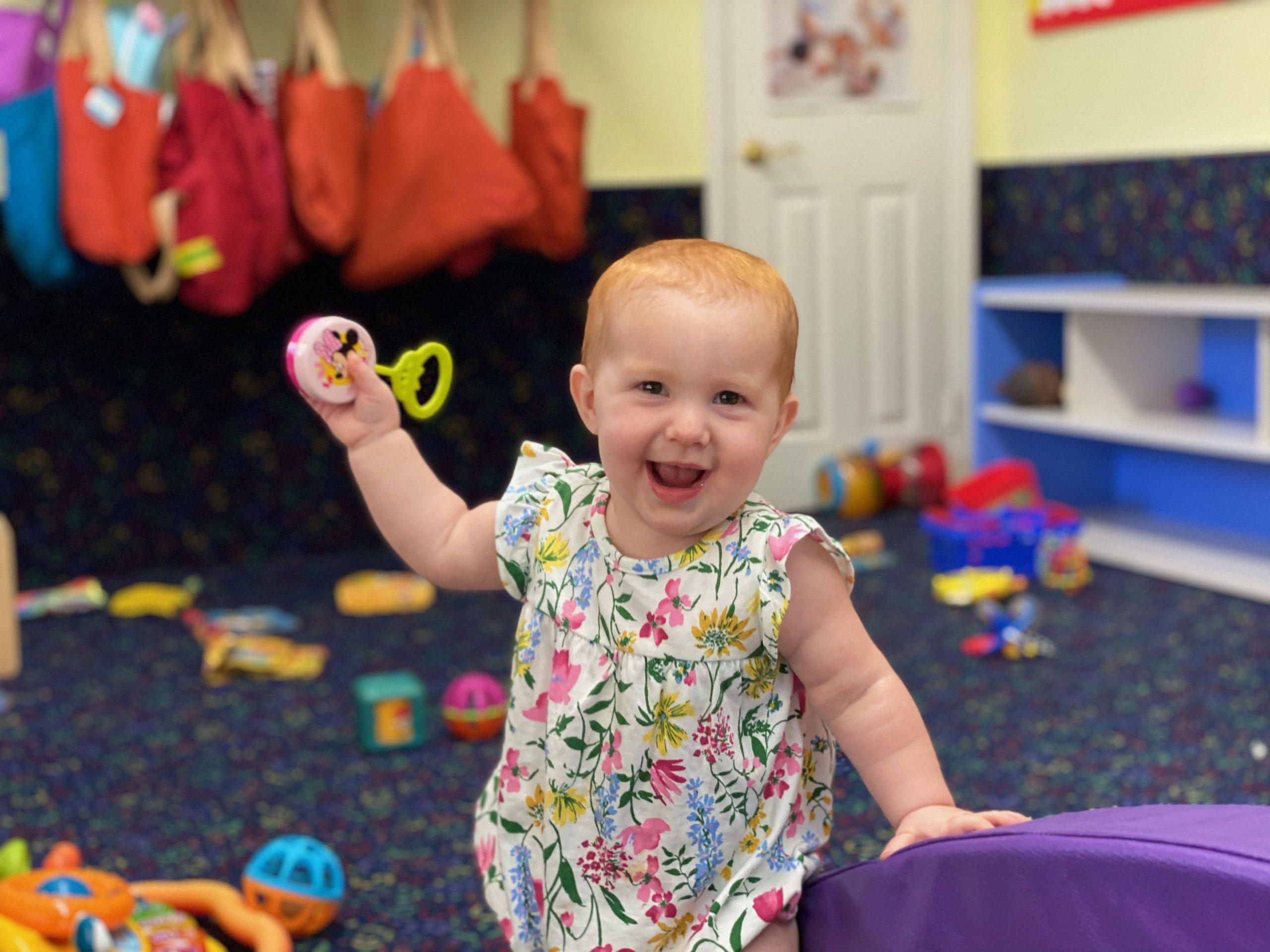 Happy Infant Halsey Schools Infant Center Woodland Hills