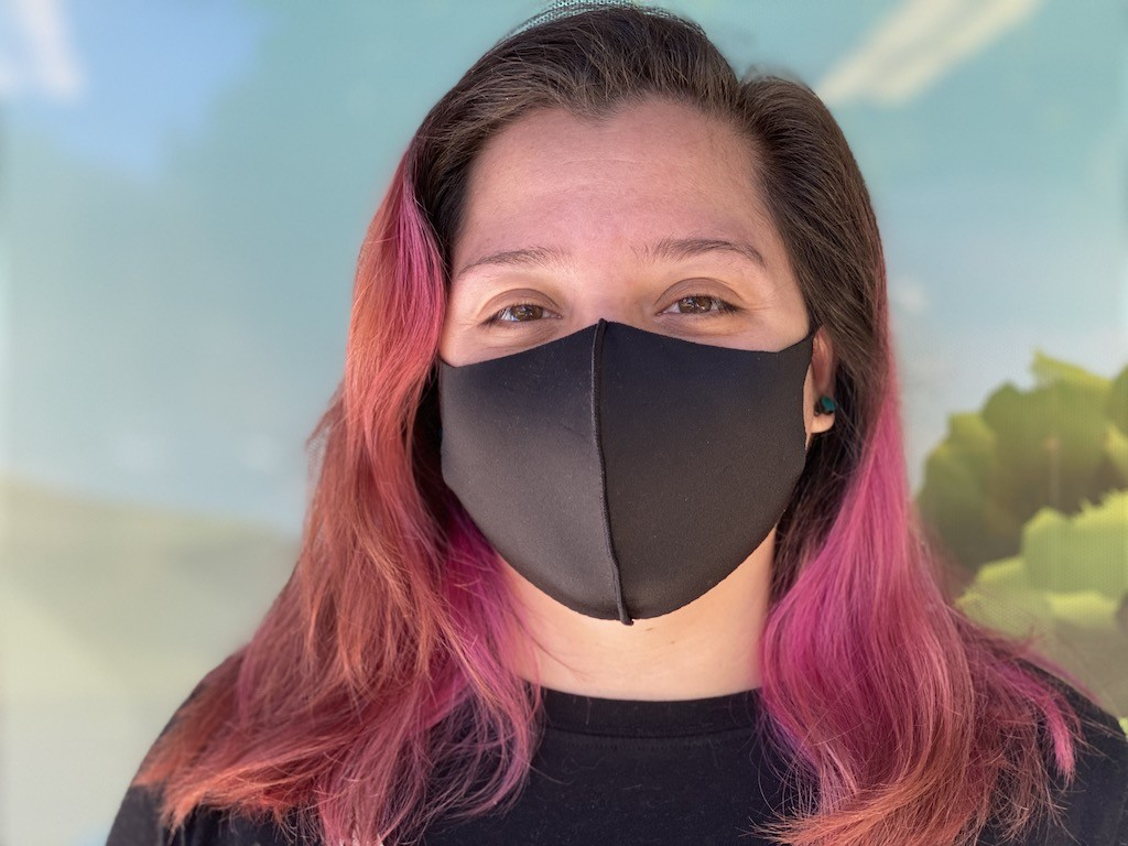 We wear masks to protect others