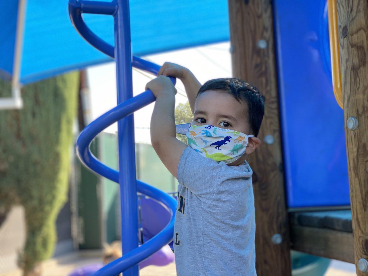 Climbing Boy Woodland Hills Preschool Daycare