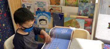 Make a book nook and make your preschooler happy