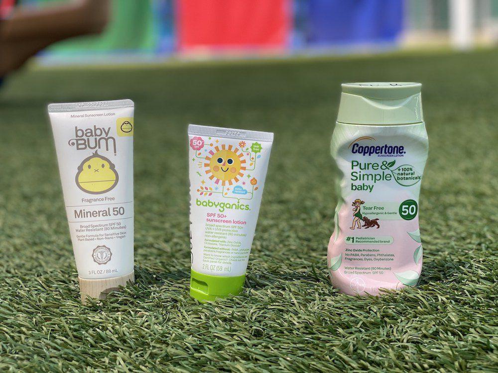 recommended sunblocks for preschool